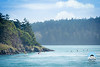 Kayakers near Deception Pass
