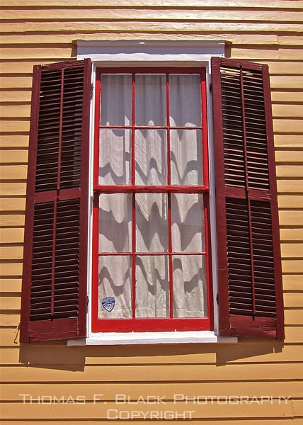 French Quarter Window 2