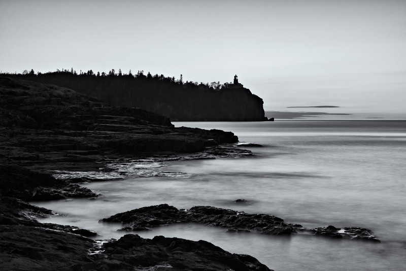 """FIRST LIGHT"" - SPLIT ROCK LIGHTHOUSE STATE PARK"