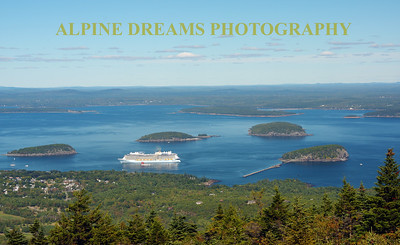 CRUISE SHIP FROM CADILAC MTN