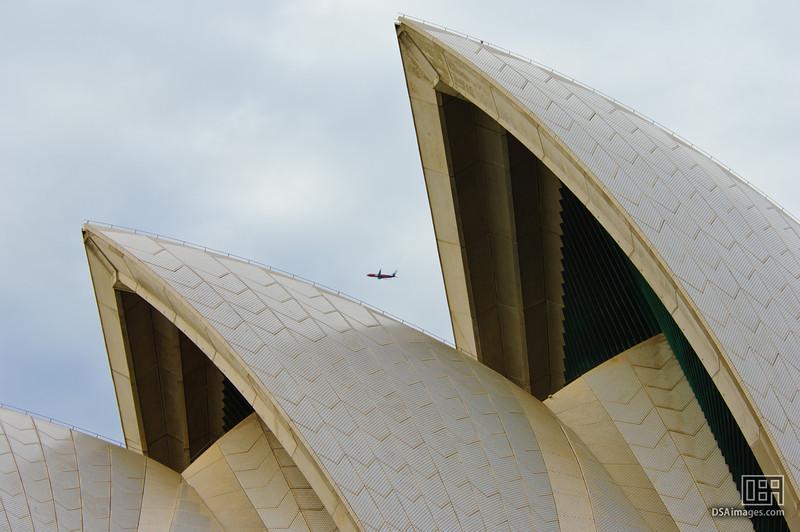Those Sydney Opera House sails must be big...