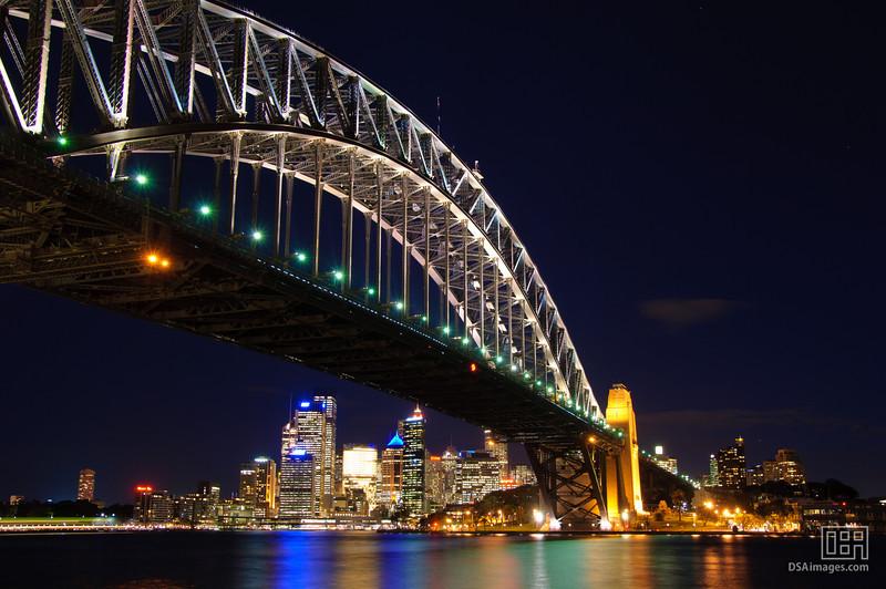 Sydney Harbour Bridge and City