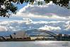 Sydney Opera House and Bridge from the Royal Botanic Gardens