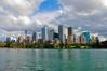Sydney city from the Royal Botanic Gardens