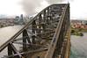View from the Sydney Harbour Bridge Pylon Lookout