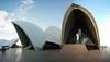 Sydney Opera House meets wide angle lens