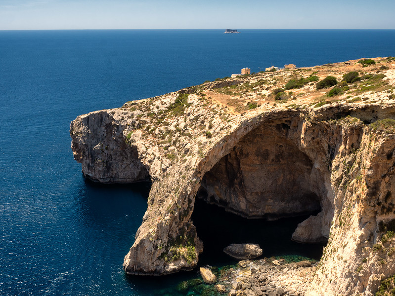 Malta's Blue Arch