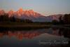 Schwabacher Landing Sunrise