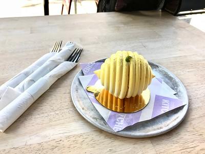 Dessert at Dominique Ansel's restaurant