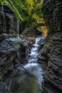 Waterfalls from the Glen (Rainbow Falls)