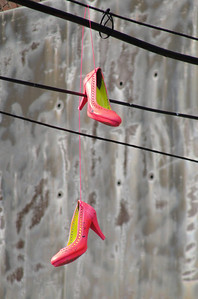 pink high heels 4065