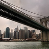 July 6th, 2008 - We went on a cruise during a pretty muggy day, this shot was taken right under the Brooklyn bridge. Enjoy! JY