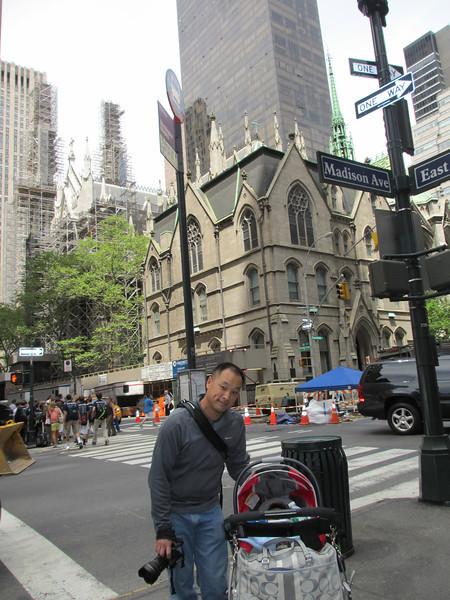 2013-05-17 - St Patricks and Rockefeller Cntr (Madison Ave Entrance) - IMG_0530