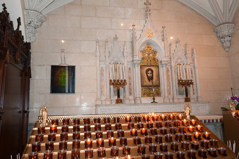 An altar to the Holy Face.