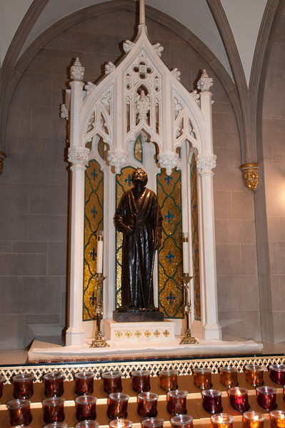 An altar to St. Jude
