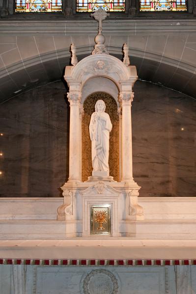 An altar to St. Joseph.
