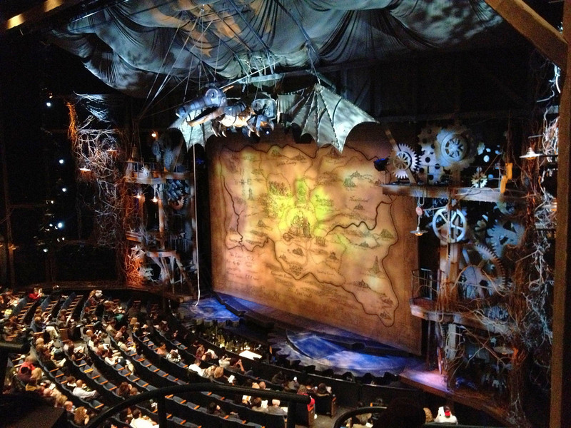 Opening set of Wicked