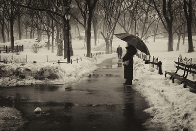 Waiting in Central Park