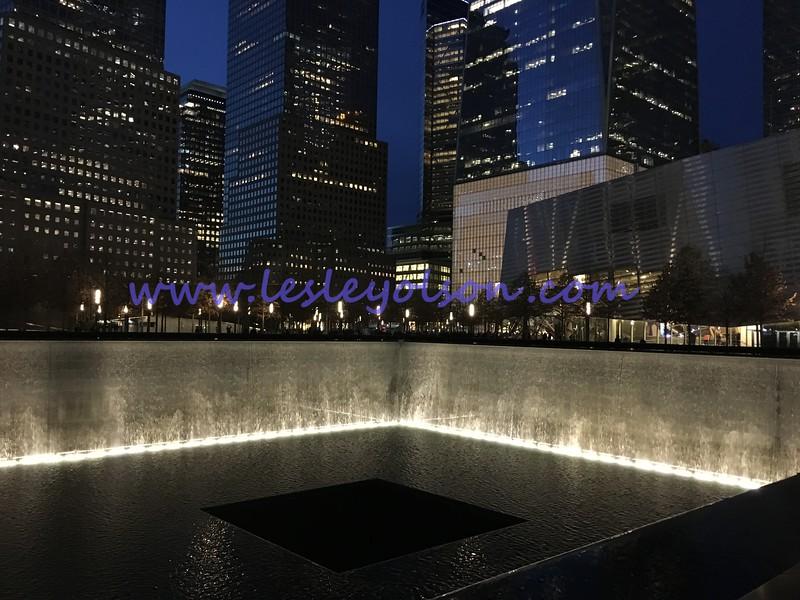 9/11 Memorial.  North Pool looking towards 1 WTC.<br /> iPhone 6S.
