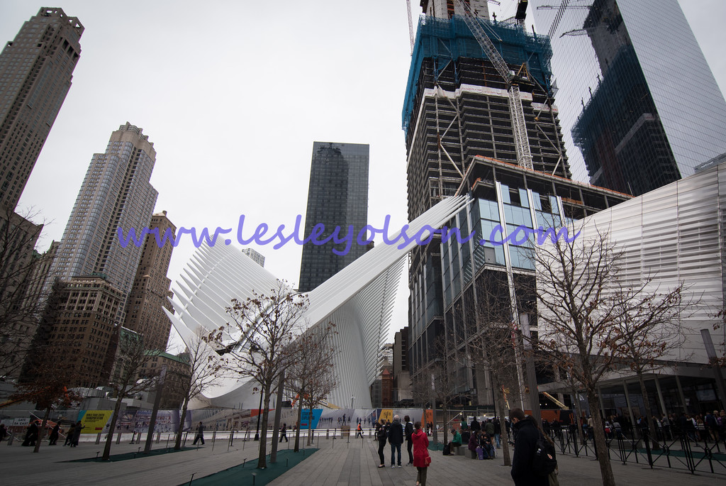 Oculus transportation hub, near 9/11 Memorial/Museum.<br /> Nikon D750 and Tokina 11-17mm lens.