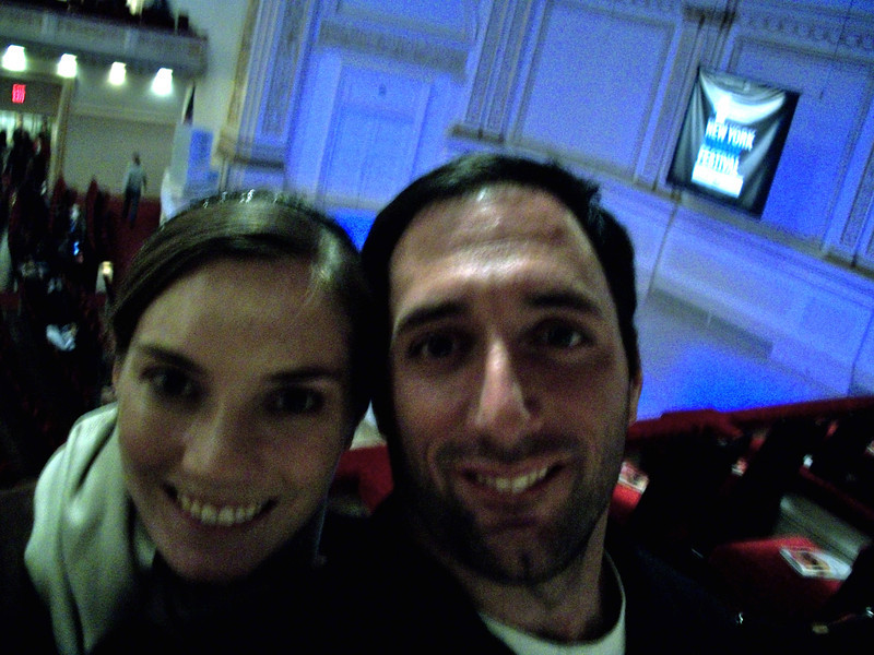At Carnegie Hall for Jim Jeffries comedy skit