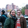 Ana and I at the end of the High LIne Park trail