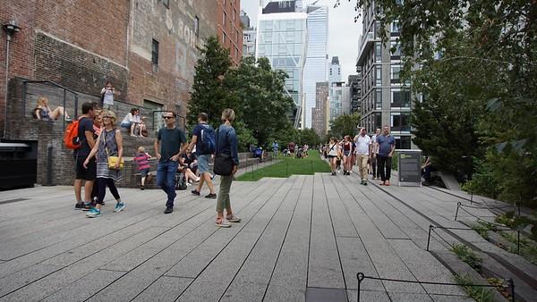 NYC High Line September 2018