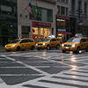 NYC Taxis - lots of SUVs these days!