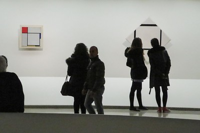 Mondrian works attract admirers