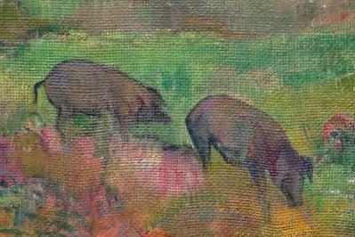 Detail of a Gauguin