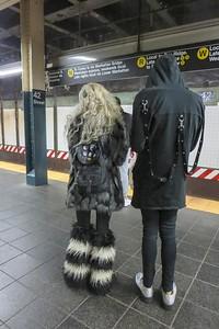 Seen on the subway platform.