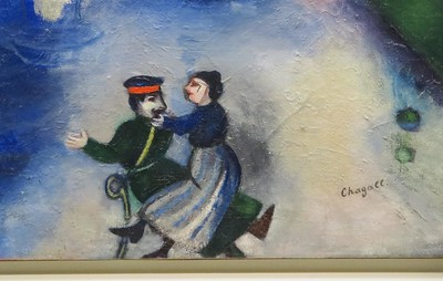Detail from a Chagall