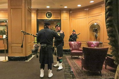Bagpipes at rest after a big St. Patrick's Day