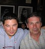 Ben, me and Dad at Jekyll and Hyde downtown.