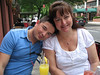 Tanya and I - Saturday brunch at Parnell's.