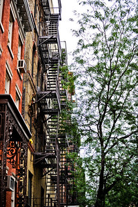 Fire escapes just look cool to me for some reason.