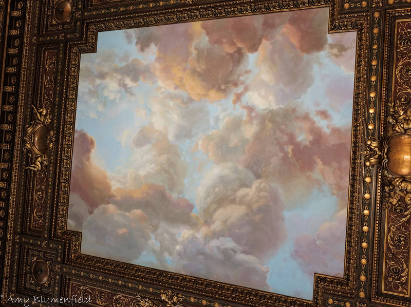 Ceiling of the Rose Reading Room in the main NYC Public Library