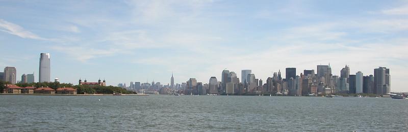 Lower Manhattan - Panoramic
