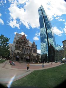 From Copley Square in Boston
