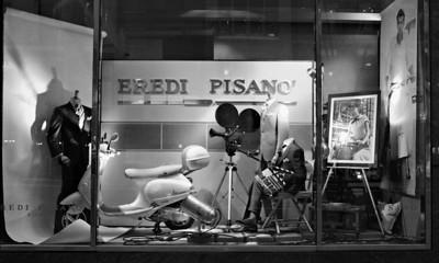 Store window on Madison Avenue