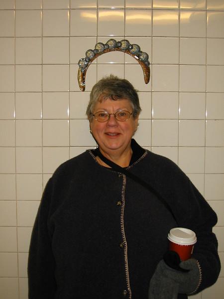 <b>Mom with Tiara and Coffee</b><br>