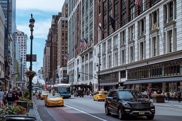 34th street in New York City