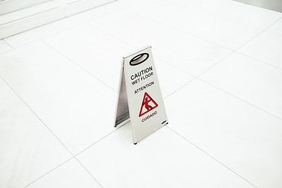 Caution Sign In The Oculus