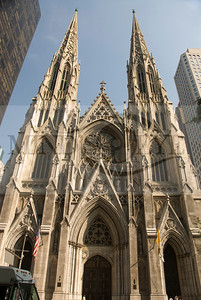 St Patrick's Cathedral- across from Rockefeller Plaza