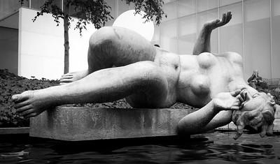 Statue Garden in MOMA