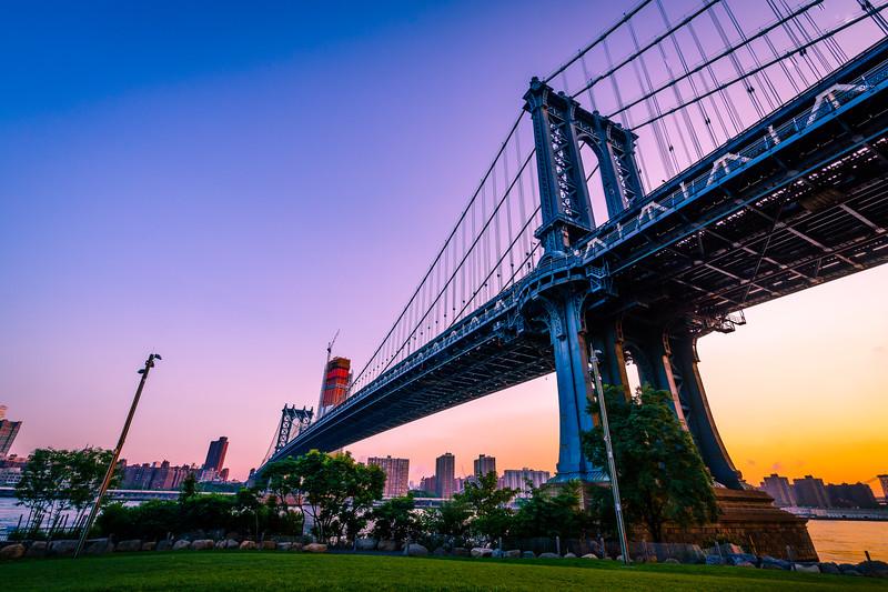 Manhattan Bridge at Sunrise