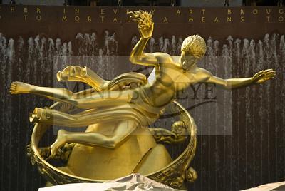 Prometheus @ Rockefeller Plaza