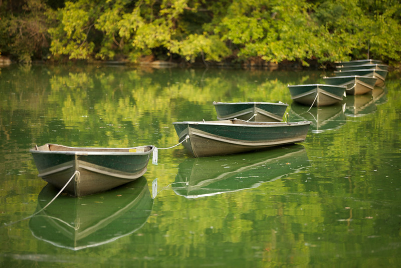 Boats - Central Park, NYC