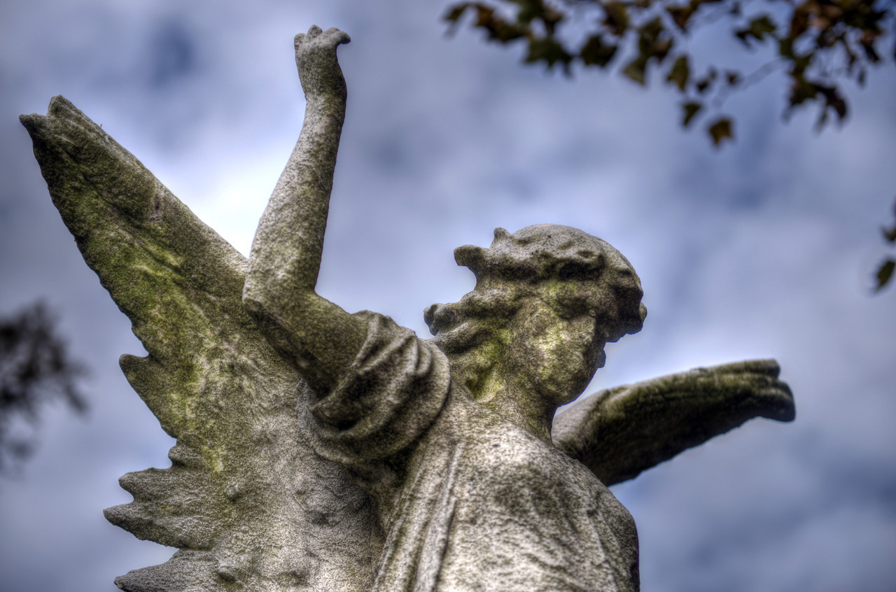 Angel, Green-Wood Cemetery