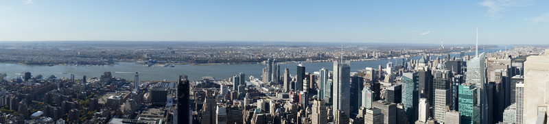 Pano from Empire State Building.